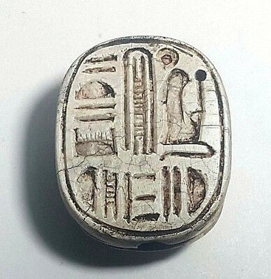 Rare Ancient Egyptian   ‎Scarab g New Kingdom (1549–1069) BC