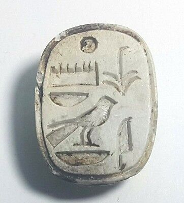 Rare Ancient Egyptian   ‎Scarab i New Kingdom (1549–1069) BC