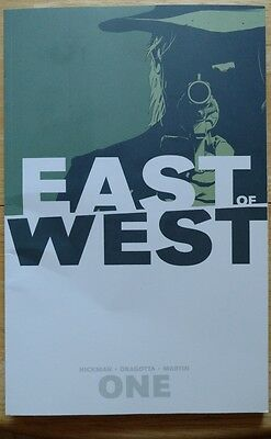 East of West Vol. 1 : The Promise by Jonathan Hickman (2013, Paperback)