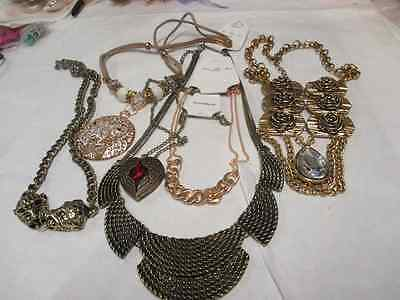 New  6 Assorted Necklaces. Free Postage..