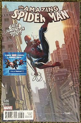 Amazing Spider-man #26 Walmart Variant Cover + 2, 3-pack