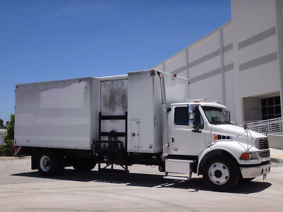 2007 Sterling Acterra 6500 Shredder Box Truck 7.2L Mercedes Diesel Auto FL Truck