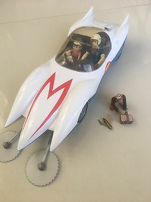 Speed Racer *as new* Collectable Figurines Mach 5 Chim Chim