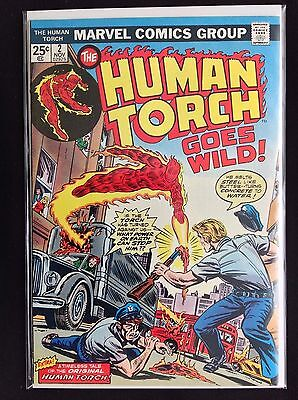 HUMAN TORCH #2 Lot of 1 Marvel Comic Book - High Grade!
