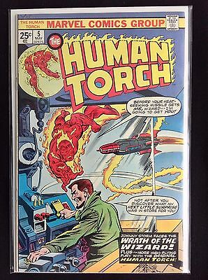 HUMAN TORCH #5 Lot of 1 Marvel Comic Book - High Grade!