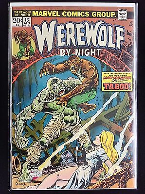 WEREWOLF BY NIGHT #13 Lot of 1 Marvel Comic Book!