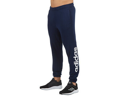 Adidas Men's Essentials Linear Trackpant - Collegiate Navy/White