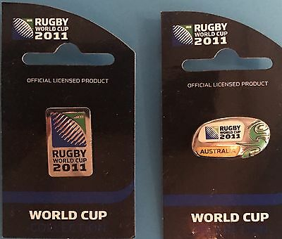 Rugby World Cup 2011. 2 Pins