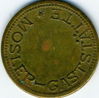 Vintage German Beer Check Token Mosler Gaststatte 1960s