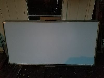 4 X 8 Wood Frame Magnetic Dry Erase Board Nice!
