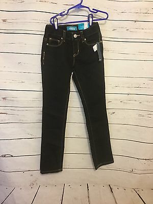 95045e33754f Old Navy Black Skinny Jeans Girls Size 8 w/ adjustable waist New With Tags