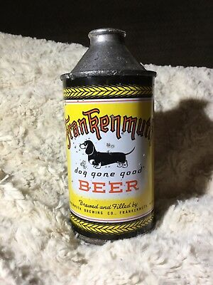 Nice Rare Frankenmuth Cone Top Beer Can