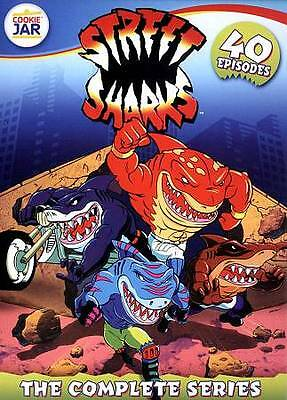 Street Sharks: The Complete Series (DVD, 2013, 4-Disc Set) - NEW!!