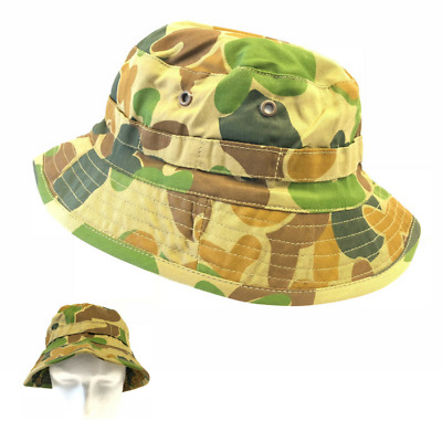 Auscam Giggle Bush Hat Army Style Hunting Camping Hiking Adults Medium