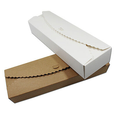 23x7x4cm Kraft Paper Box Chocolate Candy Gift Packaging Box Party Wedding Favor