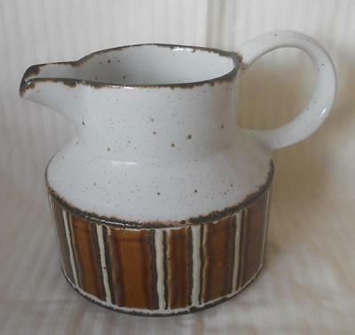 Fabulous Retro 1970S Vintage Midwinter Stonehenge Earth Milk Creamer Jug 12.5 Cm
