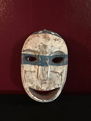 Very Clever Antoqie Bandito Wooden Mask Mexico