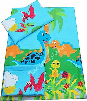 Dinosaurs Baby Kids Bedding Set Duvet Covers for Cot/ Cot bed/ Toddler