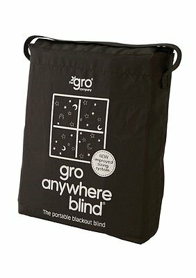 The Gro Company Anywhere Blackout Blind Adapts To Fit Any Window Up To A Maximum