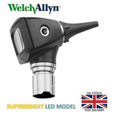 Welch Allyn Elite 3.5v Diagnostic LED Otoscope Head 20000-L Free Fast Postage