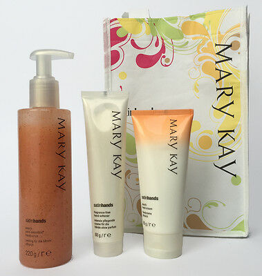 MARY KAY SatinHands Set  3 Teilig  PFIRSICH