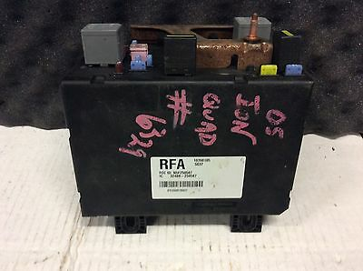 04 2004 05 2005 saturn ion fuse relay box module junction 10398105 oem gm