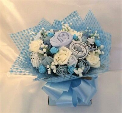 Baby Clothes Bouquet Baby Shower Christening Gift Handmade GIRL