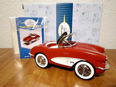 Hallmark Kiddie Car Classis 1958 Custom Corvette QHG7112 Limited Edition NIB