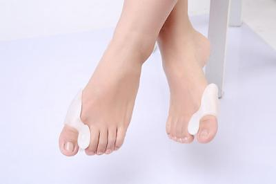 Gel Silicone Bunion Corrector Big Toe Protector Straightener Spreader Separator