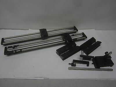 Collimator Bench  Optical Bench and  Edmund Scientific Parts
