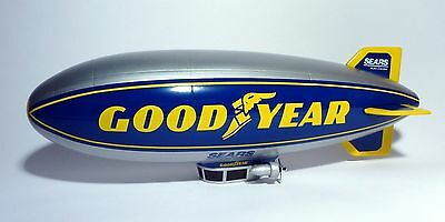 New Boxed Diecast Goodyear Sears Blimp Coin Bank Liberty Classics