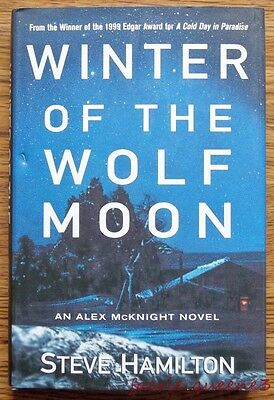 WINTER OF THE WOLF MOON by Steve Hamilton *Mystery* SIGNED 1ST ED. HARDCOVER