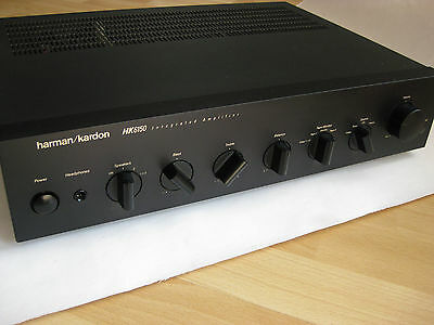 harman kardon hk6150 stereo amplifier verst rker made. Black Bedroom Furniture Sets. Home Design Ideas