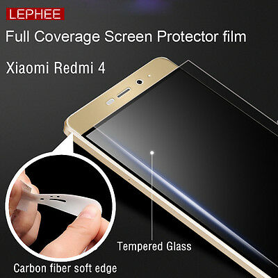 Full Covered Soft Tempered Glass Screen Protector For Xiaomi Redmi 4A 4 / 4 Pro