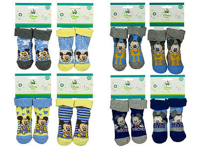 "Socken Disney ""Mickey Maus"" Mickey Mouse Babysocken in den Gr. 0-6, 6-12 Monate"