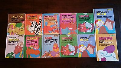 Lot of 12 SWEET PICKLES vintage books
