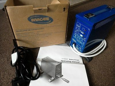 3 MONTH WARRANTY INVACARE 24V 8AMP 3 PIN BATTERY CHARGER mobility scooter