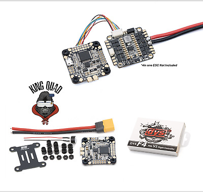 DYS F4 Flight Controller 3 ~ 6s Integrated with OSD 5V BEC & Current Sensor