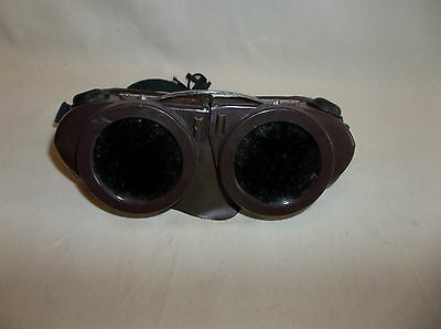 Vintage Willson Goggles, Welder, Motorcycle,aviation,steampunk