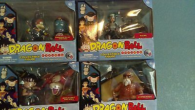 Rare Complete set of 4 Dragon Ball Z if labs *New* in box Goku Roshi Bulma Pilaf