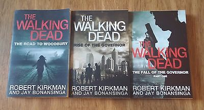 The Walking Dead Novel Books Lot