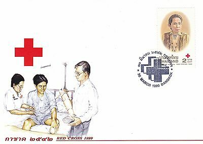 Red cross 1999 Thailand FDC