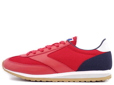 7c230884a07397 NEW Brooks Vanguard Vintage Lifestyle Mens Shoes Red White Blue 110166-667