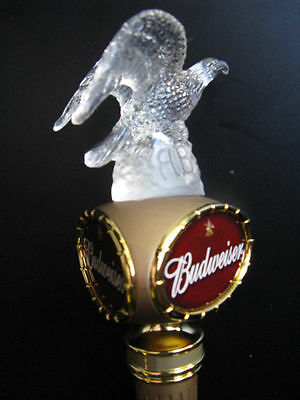 Budweiser Bud Millennium Eagle 1999 Figural Tap Handle NOS Original Box 13.75""