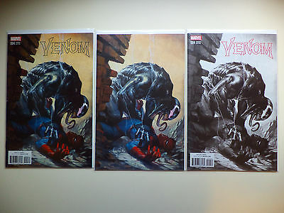 Venom # 4  Gabrielle Dell Otto /500 /1500 /3000 Variant Set Of 3 Sold Out