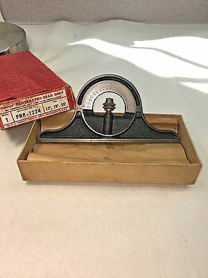 Starrett Protractor Head PRN-1224 With Original Box