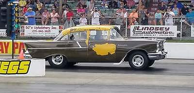 1957 Chevrolet 150  1957 Chevrolet 150 Army Staff Car Junior Stock 270