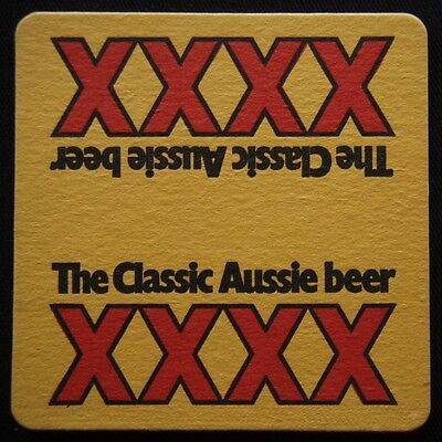 XXXX The Classic Aussie Beer Coaster (B306)