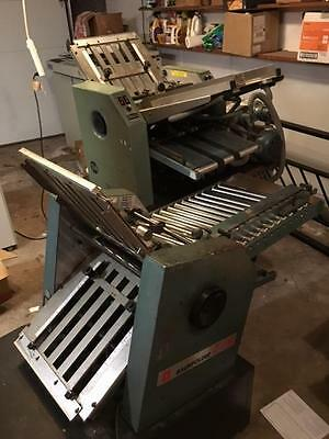 Baum Ultra Fold 714 Air Feed Folder With Right Angle