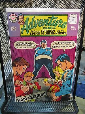 Adventure Comics 1968 #375 DC Silver Age Comics Superboy Legion of Super Heroes